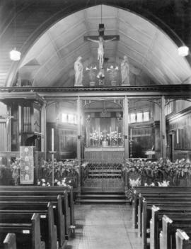 [Interior view of St. James' Church, 303 Cordova Street]