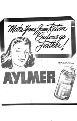 [Poster for Aylmer products]