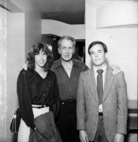 Vincent Price with Gordon Campbell and unidentified woman