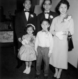 Guests at the wedding of Harry Louie and Ella Wong