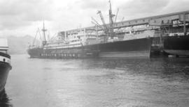 M.S. Indochinois [at dock, at Ballantyne Pier]
