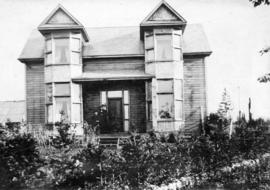 [Exterior of Mr. and Mrs. John Connon's residence - Westminster Road (Kingsway) near Central...