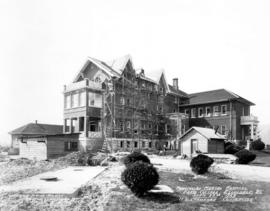 "Provincial Mental Hospital - Farm Cottage - Essondale, B.C. - H.D. Crawford ""Contractor"""