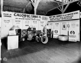 Caloric Furnace Co. display