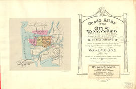 General Key of Atlas/Title Page