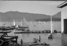 Scenes at Kitsilano Beach and Yacht Club