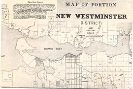 Map of portion New Westminster District