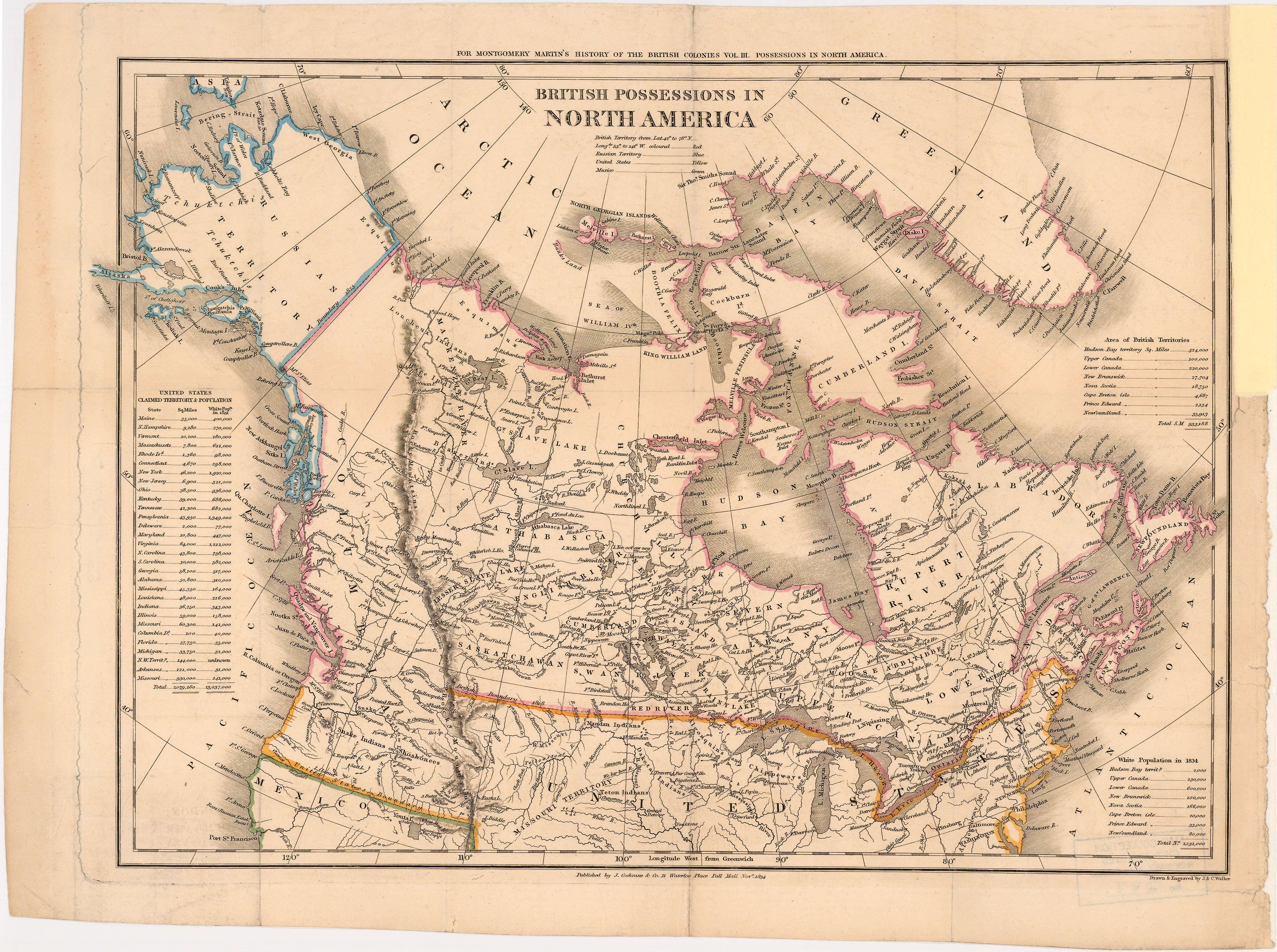 British Possessions In North America City Of Vancouver Archives - Map of north america vancouver