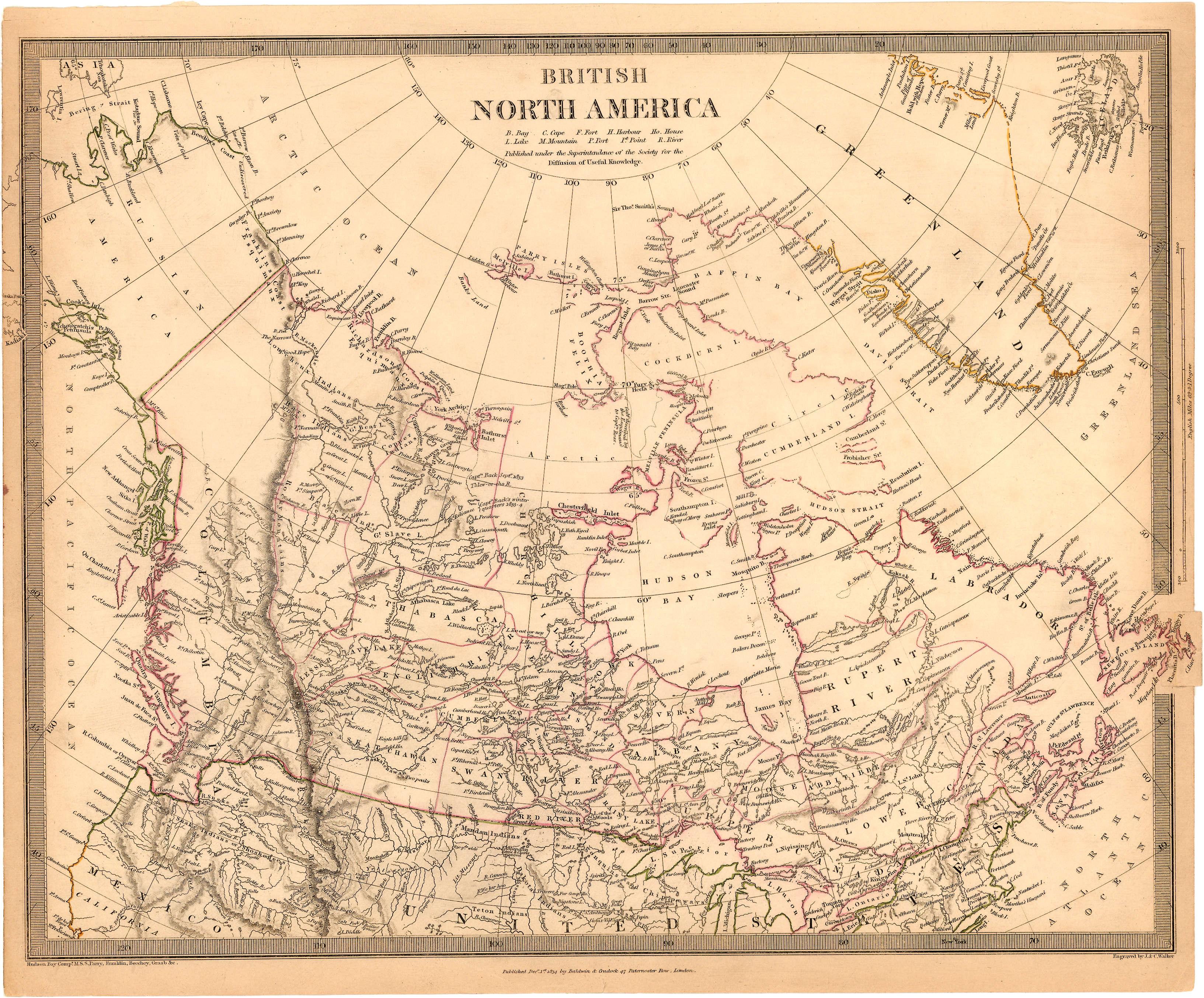 British North America City Of Vancouver Archives - Map of north america vancouver