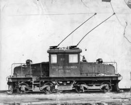 British Columbia Electric Railway engine