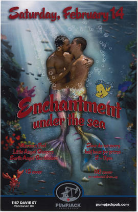 Enchantment under the sea : Saturday, February 14 : Pumpjack, Vancouver