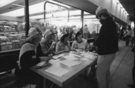 Heritage Walk registration table