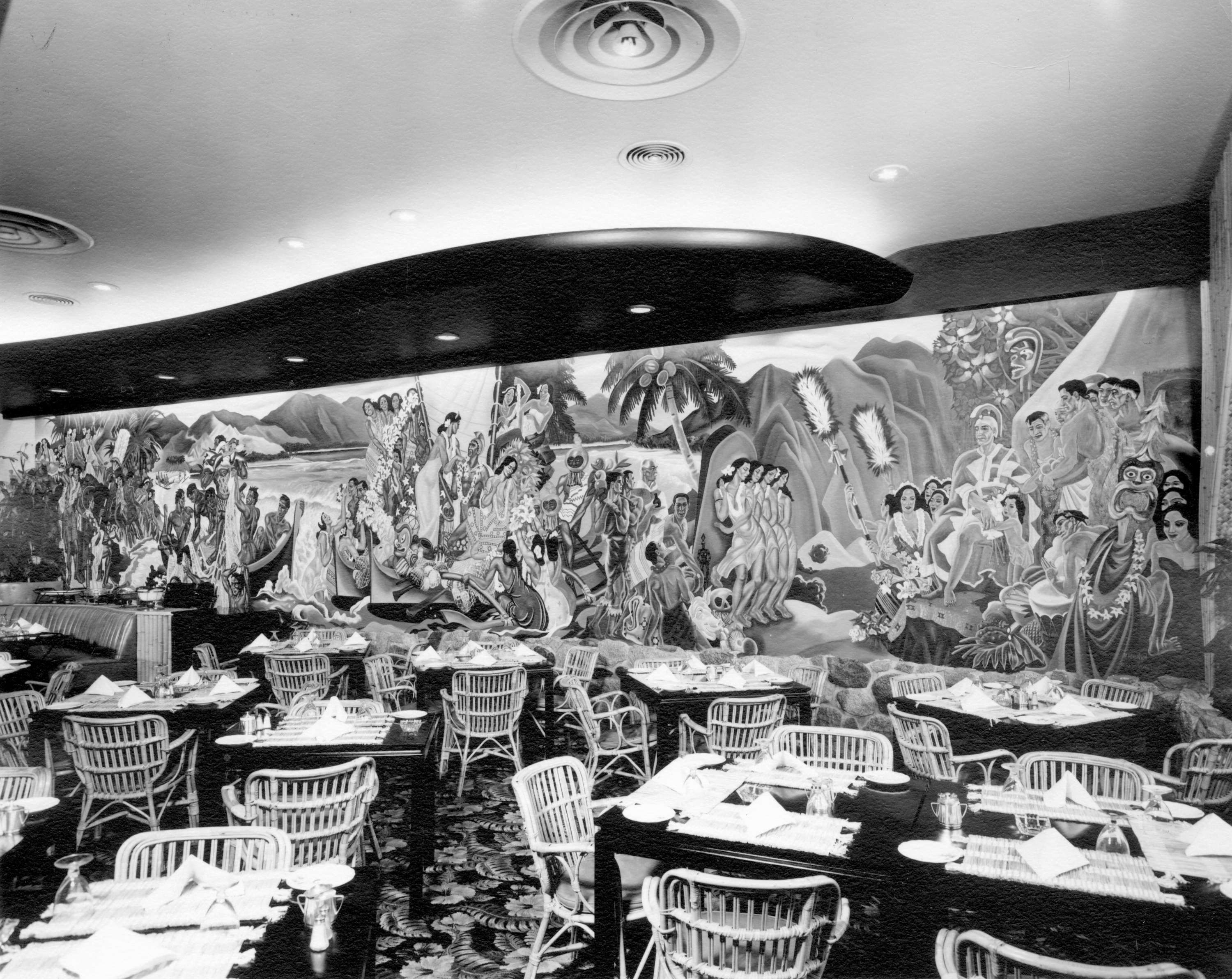 Waldorf Hotel dining room - basement level] - City of Vancouver ...
