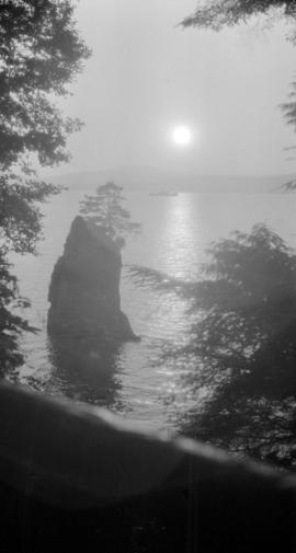 [Siwash Rock in Stanley Park]
