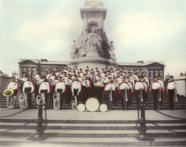 The Vancouver Kitsilano Boy's Band at Buckingham Palace 1936, Arthur W. Delamont, Conductor