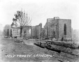 Holy Trinity Cathedral [after fire of September 10, 1898]