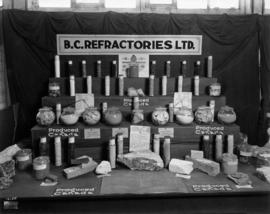 B.C. Refractories display of minerals
