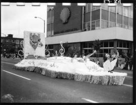District of Sumas float in 1959 P.N.E. Opening Day Parade