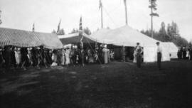 [Reception for the Duke of Connaught at Brockton Point]