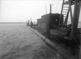 [Pipeline and dock]