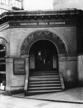 [Entrance] Vancouver Stock Exchange