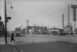 B.C. Electric - [corner of] Georgia and Main [Streets]