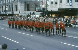 [Parade, Royal Canadian Mounted Police]