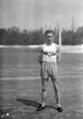 Percy Williams V.A.C. [Vancouver Athletic Club at] Caledonian Games
