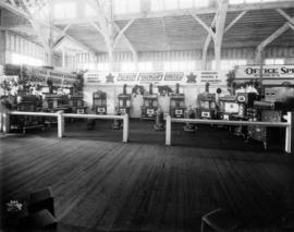 Manufacturing Building 1922 : [Beach Foundry display of household appliances]