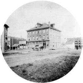 [Exterior of Windsor Hotel northwest corner of Seymour and Pender Streets]