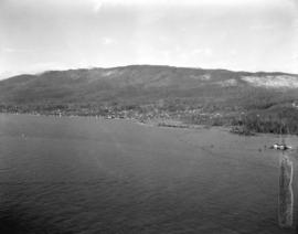 [View of West Vancouver looking west from Prospect Point]