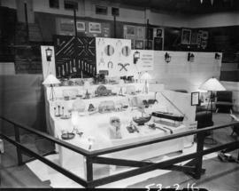 New Haven Borstal School display of home furniture, models, and handicraft