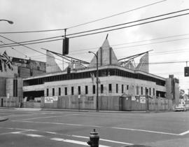 [First United Church under construction - 604 East Cordova Street]