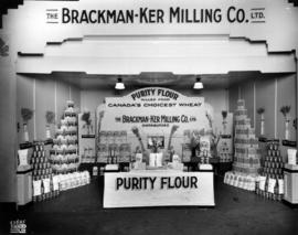 Brackman-Ker Milling Co. display of Purity flour