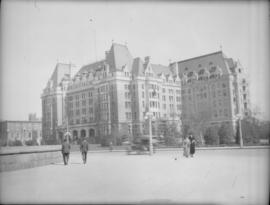 Empress Hotel from the south west