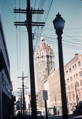 [Looking north in the 500 Block of Beatty Street]