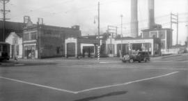 Standard Gas Station Main and Georgia Sts.