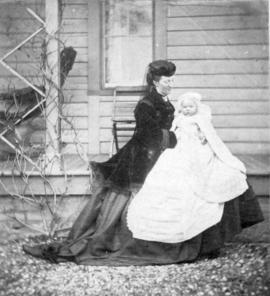 Mrs. Hastings and Walter [Hastings] - 1869