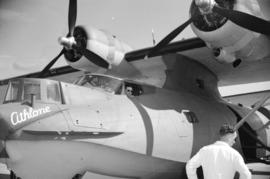[Close up view of first PBY Catalina produced at the Sea Island Boeing plant]