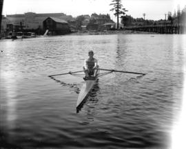 [Mr. Knott of Vancouver Rowing Club]