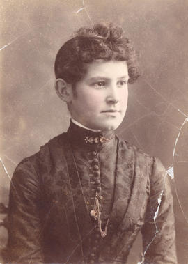 [Miss Alberta Fagan (Mrs. A.M. McGovern)]