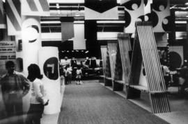 "1969 P.N.E. ""Fanfair to Japan"" exhibit in Pacific Coliseum"