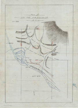 Plan of [District] Lot 792, NW [New Westminster] District B.C.