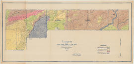 Topographical map of Lots 2642, 2643 and Lot 2314