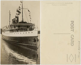 [Princess Marguerite, one of the Canadian Pacific Railway's coastal steamships]