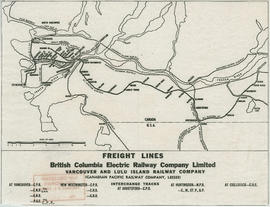 Freight lines : British Columbia Electric Railway Company Limited, Vancouver and Lulu Island Rail...