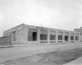 A.R. Williams Machinery [Company] building - front - [495 Railway Street]