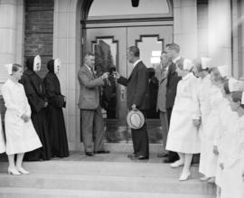 Opening of new nurses' home, St. Paul's Hospital