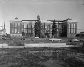 [Exterior of Lord] Strathcona School [592 East Pender Street]
