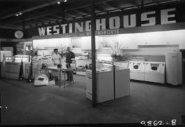 Westinghouse display of household appliances